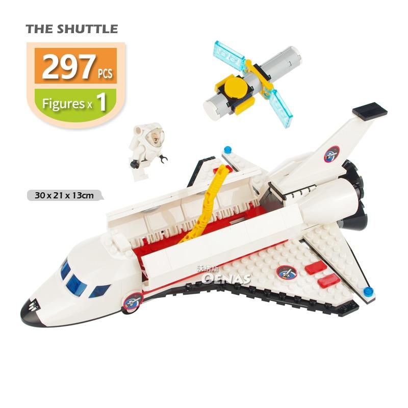 Toys & Hobbies Sale! Space Shuttle Plane Aerospaceplane Assembled Education Building Blocks Bricks Sets Fit Legoingly Kids Toys Children Gift
