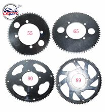 55 65 80 89 Tooth 55T 65T 80T 89T 25H 54MM Rear Sprocket For Razor EVO X-Treme IZIP E Gas Scooter Mini Moto(China)