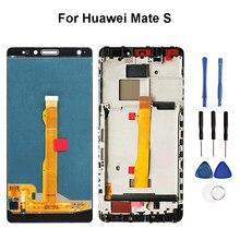 """5.5 """"Pour Huawei Mate S Potes Lassemblée de convertisseur analogique Numérique Décran Tactile daffichage daffichage à cristaux liquides de CRR UL00 CRR UL20 CRR TL00 CRR CL00 CRR L09 Remplacement"""