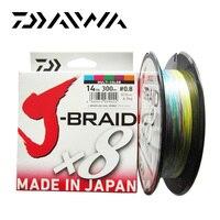 Daiwa J BRAID 8A 150M 100 Original Multicolor 8 Wire Braid Line Monofilament 14 35lb Fishing