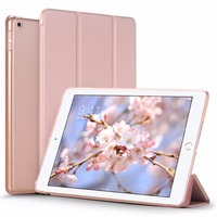 Case For New IPad 2017 9 7 Inch Slim Lightweight Smart Shell Stand Cover With Translucent