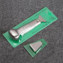 Deri sanat, el sanatları ve dikiş deri el sanatları deri Skiving bıçak paslanmaz çelik deri bıçak kesme bıçağı