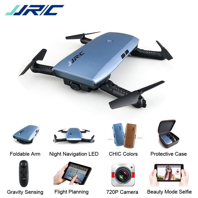 ¡En Stock! JJR/C JJRC H47 ELFIE Plus con HD Cámara mejorada brazo plegable RC Drone Quadcopter helicóptero VS H37 Mini eachine E56