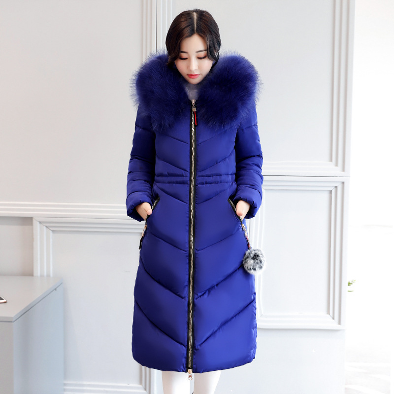 5XL 6XL Plus szie Winter long jacket Women Snow wear fashion thicken   parkas   femal 2018 hot selling warm long coat overcoat L-6XL
