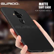 Gurioo Ultrathin Soft Silicon TPU Case For Huawei Mate 8 9 10 Pro Shockproof Back Cover For Mate 10 Matte TPU Phone Case