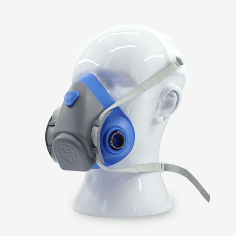 Half Gas Mask Safety Respirator Gas Masks Chemical Mask Paint Dust Filter Breathe Mask op7 6av3 607 1jc20 0ax1 button mask