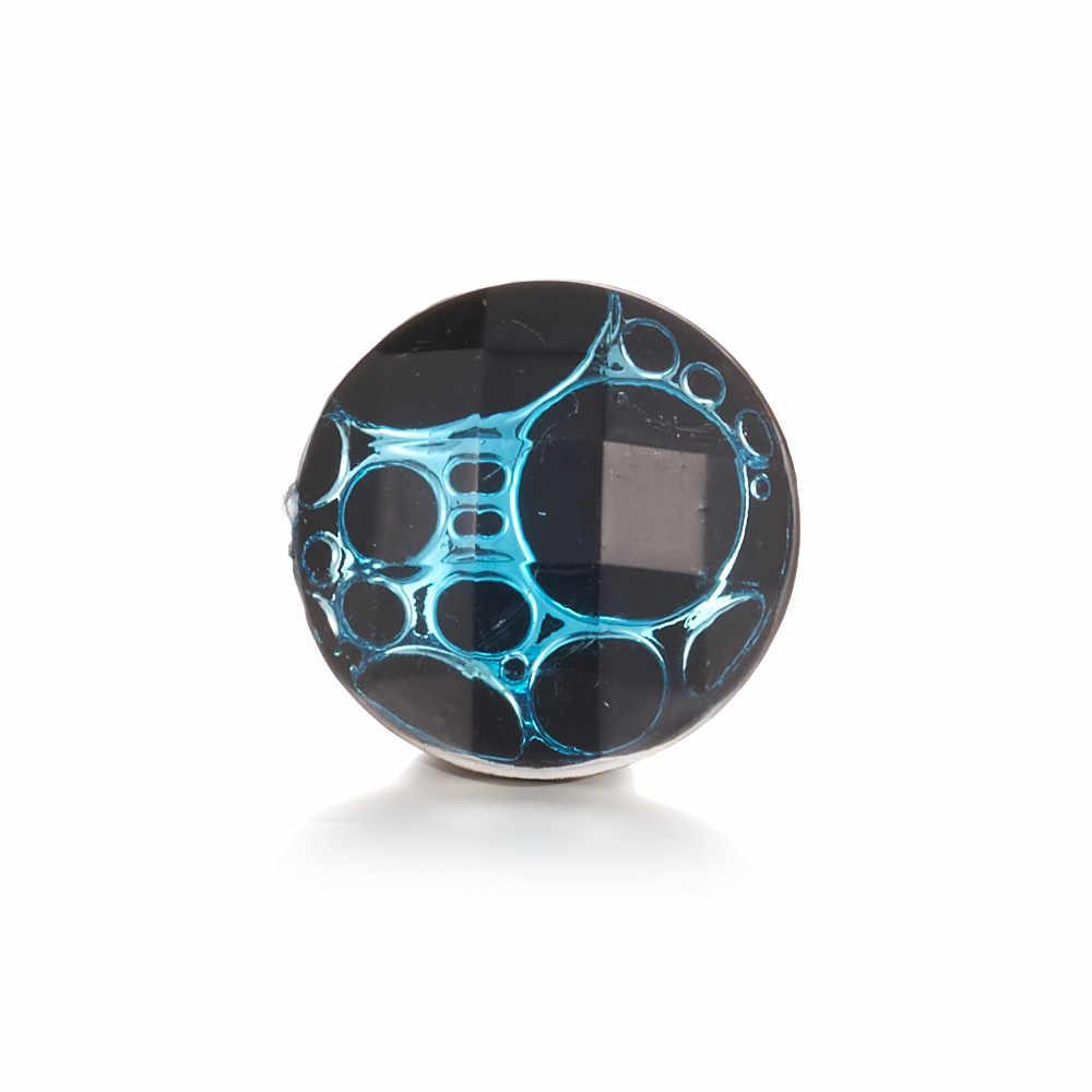 Nowa żywica Snap biżuteria 18 przyciski zatrzaskowe mm DIY przyciski dla kobiet TZ5004