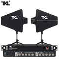 TKL 8 Channel Antenna Distribution System 8 Sets Receiver 500-950Mhz Active Directional antenna uhf wireless microphone