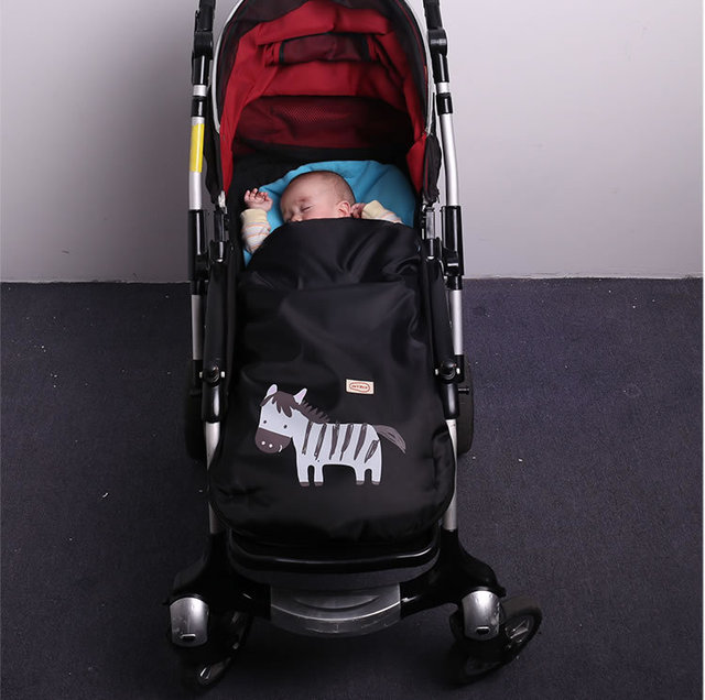2016 Baby stroller footmuff envelop baby sleeping sacks high quality infant stroller sleeping bag pram warmer booties