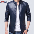 JOOBOX 2017 new thin men leather jackets, Mandarin Collar,motorcycle man coat,Windproof biker jacket, Men Casual Coats (PY028)