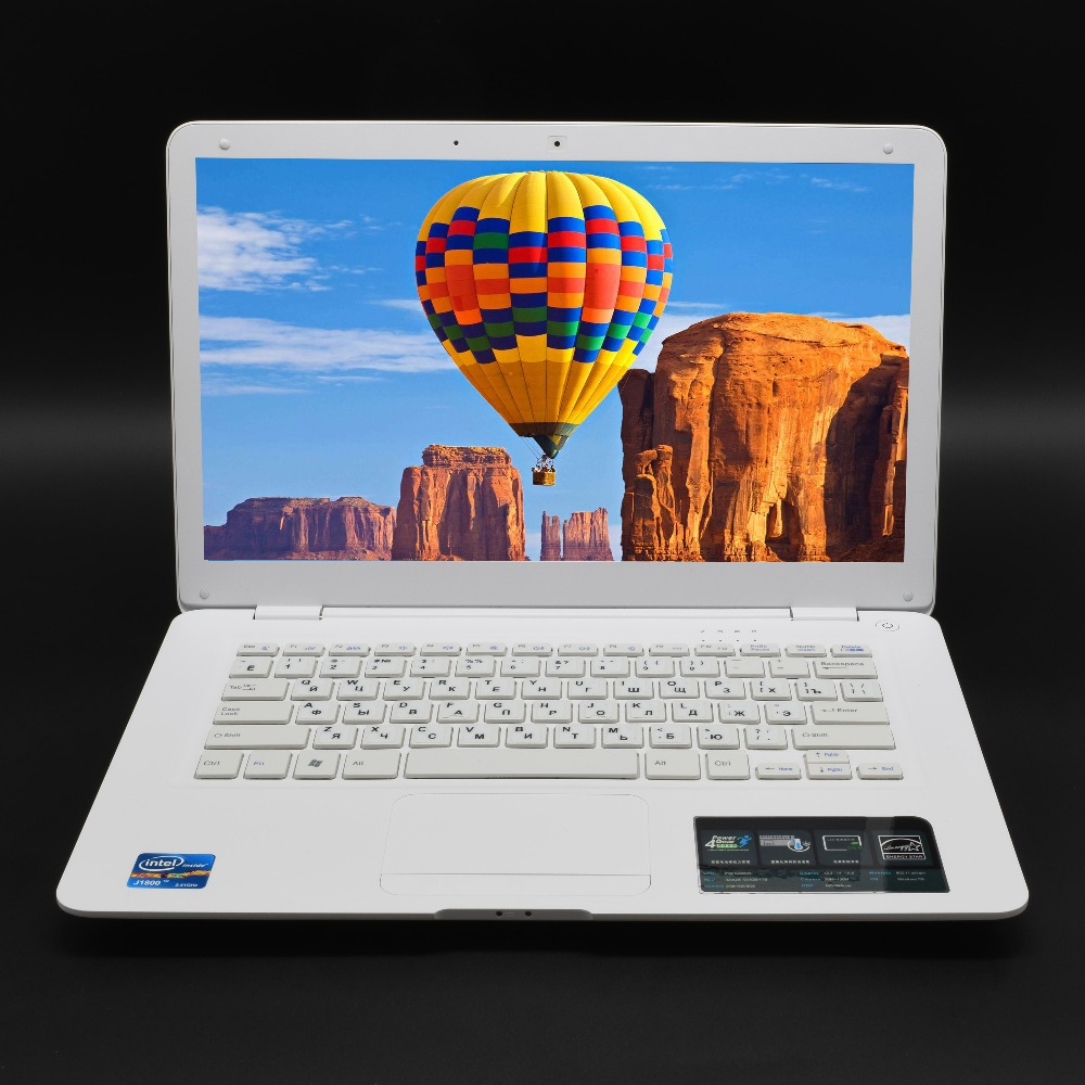 "Laptop 8GB RAM 750GB Windows 10 Harddisk 14"" Fast CPU Intel Student Business Office WIFI Arabic AZERTY Spanish Russian Keyboard"
