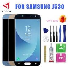 Brightness Adjustable LCD For Samsung Galaxy J530 J530F J530FM J5 Pro 2017 Display Touch Screen Digitizer Assembly Parts