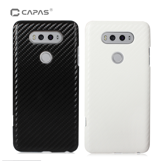 info for b850d eb0d0 US $3.99 |For LG V20 Case Cover Original CAPAS 3D Carbon Fiber Fashion  Bling Hard PC Phone Case for LG V20 H910 Back Cover Shockproof-in  Half-wrapped ...