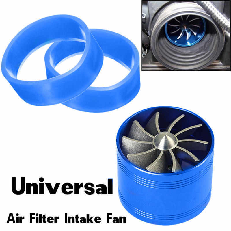 F1-Z Universal Supercharger Turbo Turbonator Air Intake Brandstof Gas Saver Economische Fan Drop Shipping
