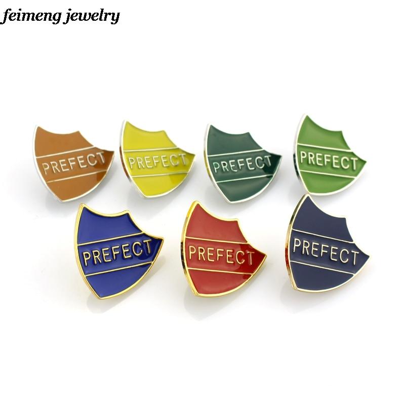 New Design Prefect Enamel Brooch Badges Brooch Perfect Magic School Shield Ravenclaw Hogwarts Prefect Pins Christmas Gift