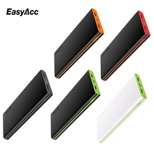 EasyAcc 10000mah Power Bank Fast Charge External Battery Pack (2.4A Smart Output) Dual USB Powerbank for iPhone 6 Samsung Tablet