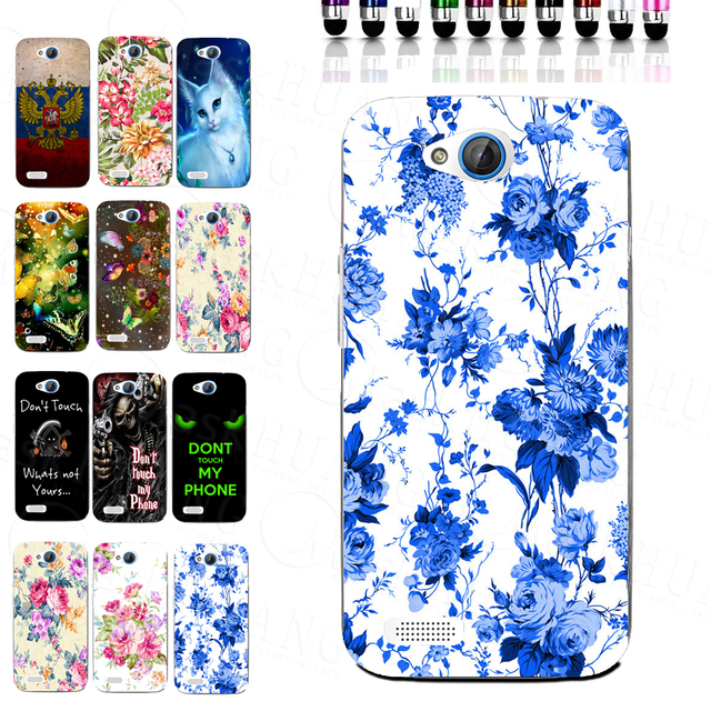 US $2 89 |Beautiful Elegant Blue Flower Printer TPU Soft Mobile Phone Case  for ZTE Blade Q Lux 3G 4G A430 Back Cover on Aliexpress com | Alibaba Group