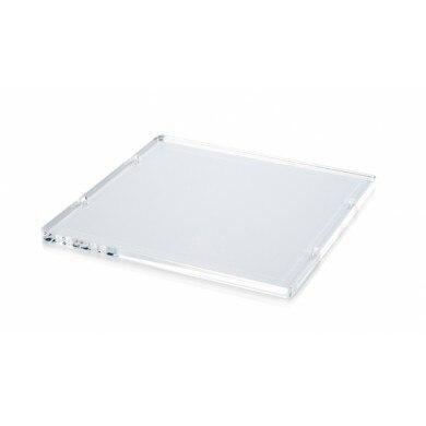 Beschouwend Ultimaker D'origine 3d Imprimante Acrylique Plaat-forme De Bouw Indruk Lit Giet Ultimaker D'origine Plaat-forme De C