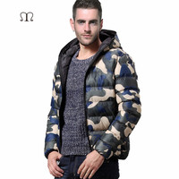 Winter Men Jacket 2017 Brand Thick Casual Warmth Camouflage Mens Jackets and Coats Thick Parka Men Outwear Plus Size Overcoat