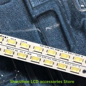 Image 3 - 4 teile/los Für Toshiba 40BF1C LCD backlit TV lampe streifen LJ64 02267A/02268A mit bildschirm LTA400HF16 56LED 453MM