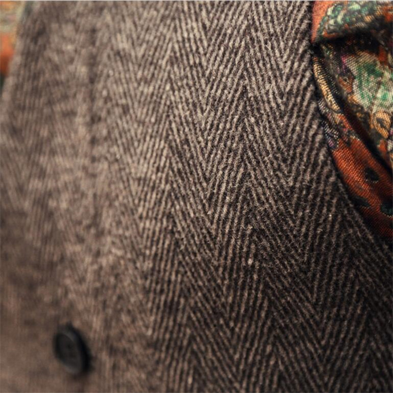 Moda Yüksek Kalite Yeni Erkekler Yelek Erkek Casual Suit V Yaka Slim - Erkek Giyim - Fotoğraf 5