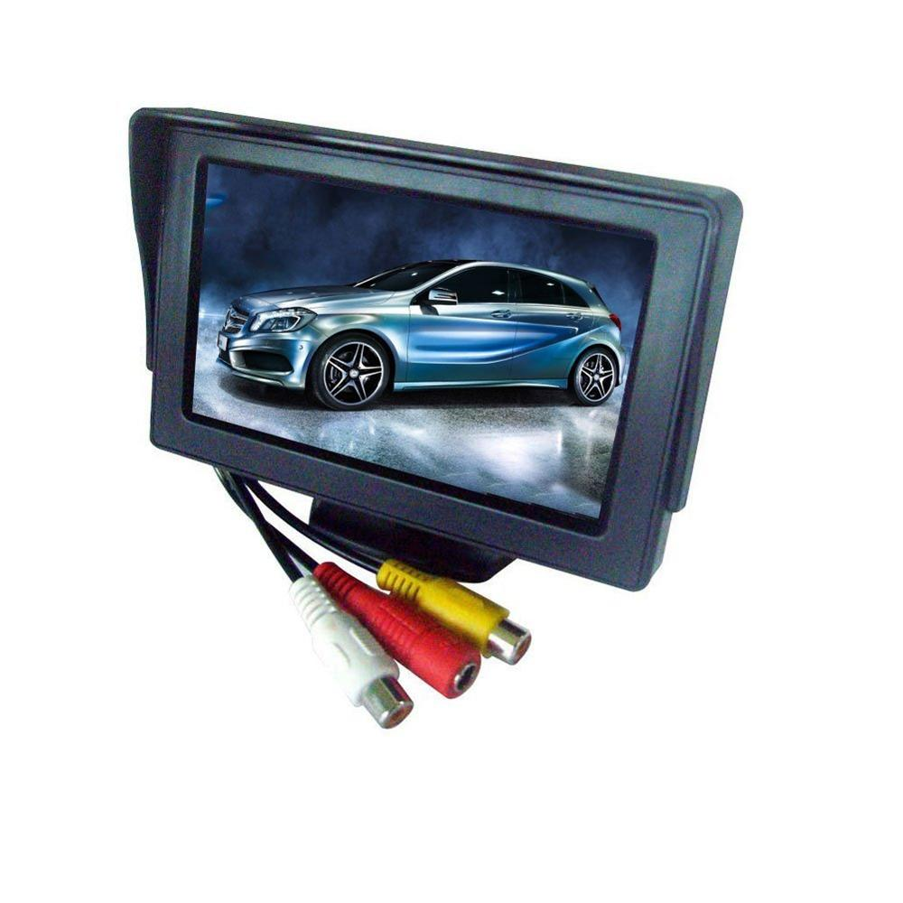 Waterproof Reversing Camera HD Car Kit Rear View Camera with LCD-TFT Color Display Car Mirror Reversing Car Monitor for parking