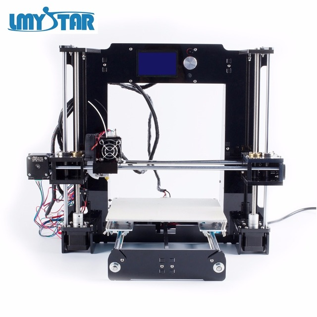 LMYSTAR Easy Assemble A6 3D Printer Kit Reprap High Precision DIY Printing with Filament Tools SD Card
