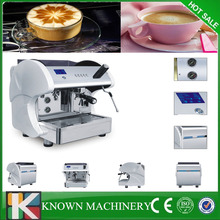 CE approved stainless steel body professional copper exchange boiler system commercial espresso coffee machine with 9% discount