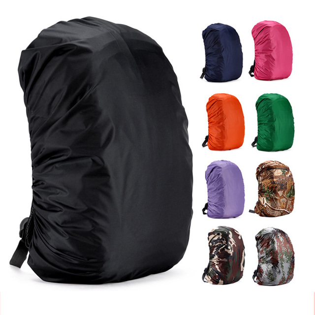 Портативный непромокаемый рюкзак 1 шт рюкзак дождевик для сумок располагаться лагерем перемещения Водонепроницаемый против пыли Открытый альпинистский рюкзак Крышка