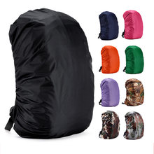 Portable Rainproof Backpack 1 Pcs Rucksack Bag Rain Cover Travel Camping Waterproof Dust Outdoor Climbing Backpack Cover(China)
