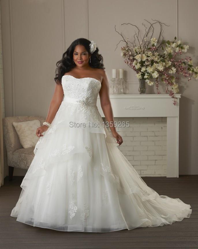 Free Shipping Short Sleeve Wedding Dress With Top Lace Bride Gowns Liques A Line Zipper Back Organza Vestidos De Noiva Aw279