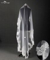 RSV2 French Lace 2m Long Velos De Novia Bridal Veil