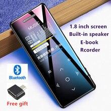 Yescool X5 Bluetooth MP3 музыкальный плеер hifi спортивный Flac walkman с FM диктофоном видео изображение обзор динамик