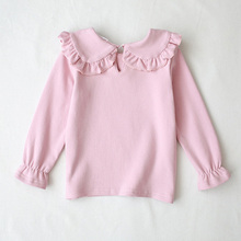 Kids Girls Tops Shirt Long-sleeved