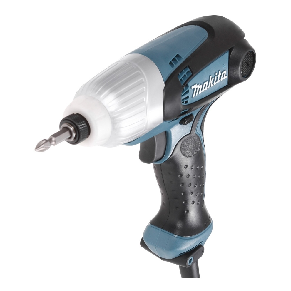 цена на Electric drill screwdriver Makita TD0101 (230 W Power, torque 100 Nm, Screwing with blows)