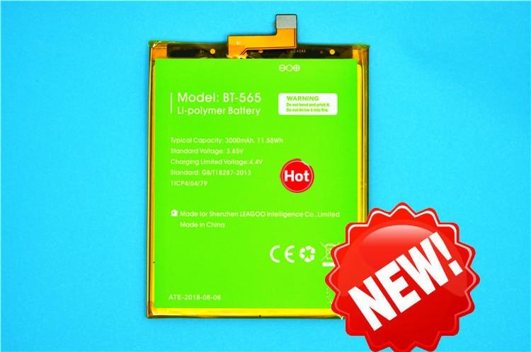 100% Original Backup Leagoo T5 Battery 3000mAh For Smart Mobile Phone + Tracking Number