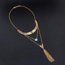 Find Me 2018 new brand fashion boho long tassels collar choker necklace & Pendants vintage Maxi necklace women Jewelry wholesale