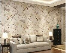beibehang papel de parede Classical Ink Flower Wallpaper Bedroom Den TV Background wallpaper hudas beauty bebang papier peint