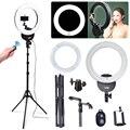 Falconeyes FLC-55 55 Watt 16''42cm 5600 Karat Ring Licht w/Stand Kamera-handy klemm & Remote Kit für Porträt Bilden Video Foto Selfie