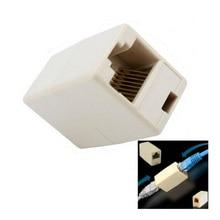 2016 Cable Joiner RJ45 Adapter Network Ethernet Lan Coupler Connector Extender Plug