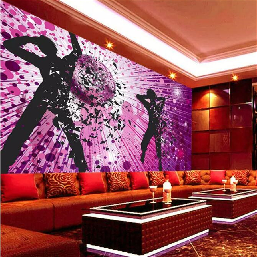Background Colorful Room: Beibehang Customized Large Wallpaper 3D Mural Gorgeous