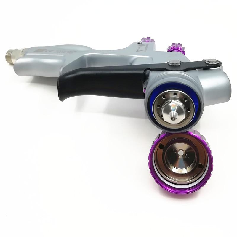 2019 neue HVLP Pro 6000G spritzpistole Schwerkraft luft spritzpistole mit 1,3mm düse pneumatische spray gun auto spray farbe gun Sprayer-in Spritzpistolen aus Werkzeug bei AliExpress - 11.11_Doppel-11Tag der Singles 1