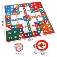 New 1pcs 82 82CM Indoor Necessity Sports Entertainment Child Folding Flight Chess Indoor Games Carpet Single
