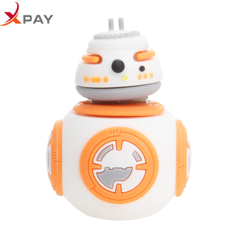 Image 3 - Wholesale Cartoon Star wars pendrive usb flash drive 32gb 2.0 pen drive 4GB 8GB 16GB flash memory Silicone 64GB 128GB Free Logo-in USB Flash Drives from Computer & Office