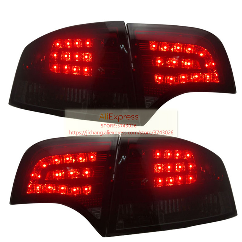 For Audi A4 B7 LED Tail Lights Assembly Fit For 2005 2008