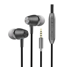 Здесь можно купить   3.5mm In Ear Earphone Mobile Phone Metal Bass Wire Control Earphones With Microphone For xiaomi PC Notebook Ear Phone Headset Portable Audio & Video