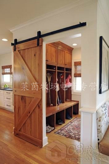 Barn Door Hanging Rail Sliding Door Track Hanging Rail Barn Door Hardware  ...