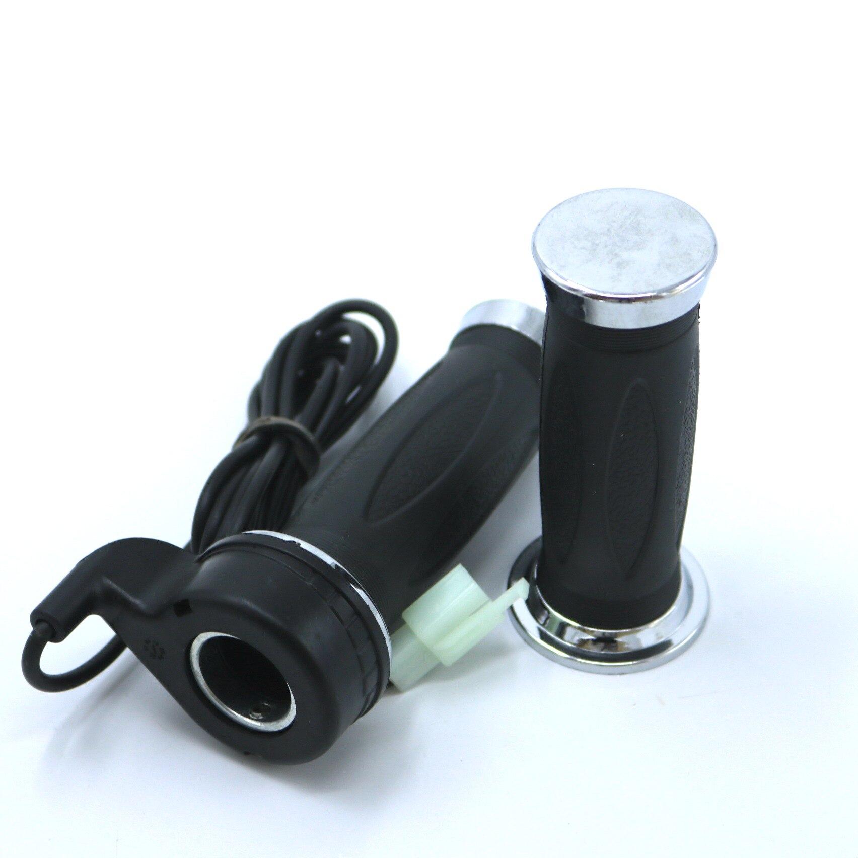 24V-72V Ebike Twist Throttle Speed Throttle Electric Bike DIY Parts Color Black