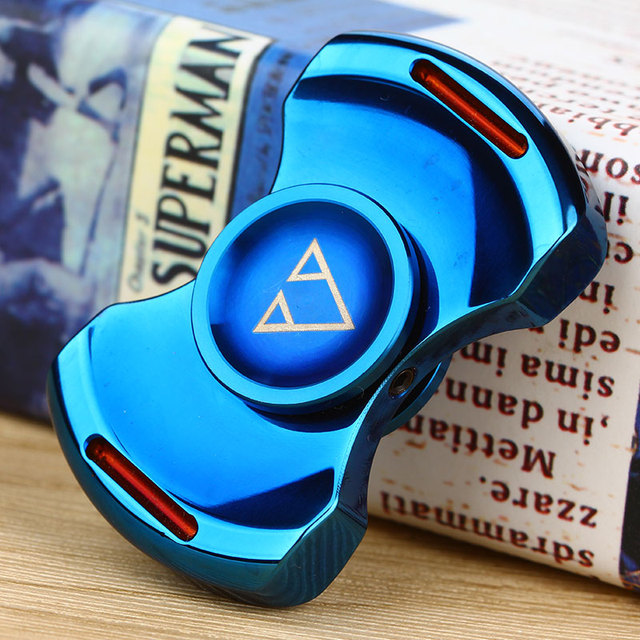 Metal Hand Spinner with Hybrid Ceramic Bearing 304 Stainless Steel Fidget Spinner Finger Toy Educational Toys for Kids Adults