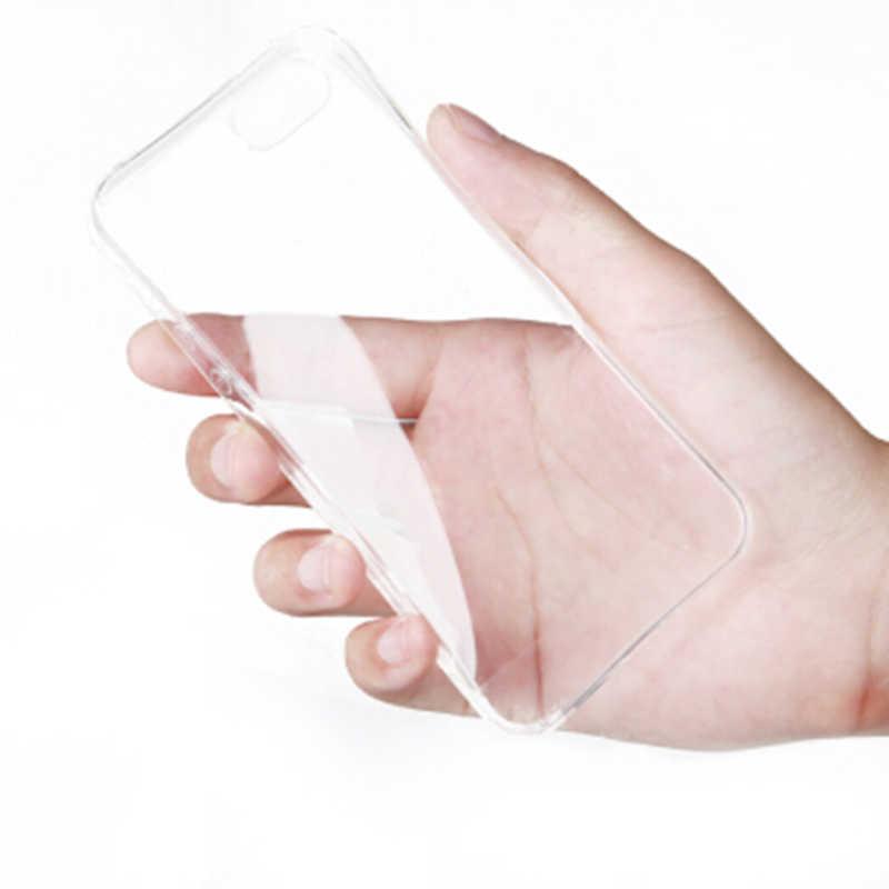Wangcangli iphone se durumda Ultra ince yumuşak TPU telefon kılıfı için iphone se 5 5s 5 kılıf silikon şeffaf kılıf iphone 5 5s se